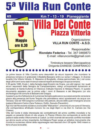 5a Villa RUN CONTE