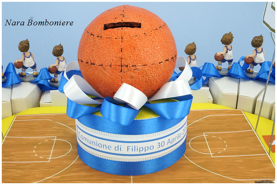 bomboniere palla basket