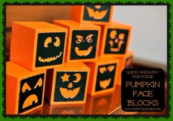 Pumpkin Blocks Cover
