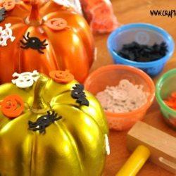 Pin & Pound Pumpkins