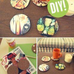 Handmade Gifts Inspiration: Instagram Coasters