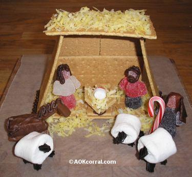 0 AOK-Gingerbread-Nativity