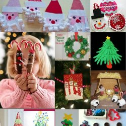 12 Christmas Crafts for Kids