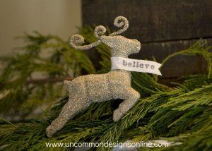 glittered-reindeer