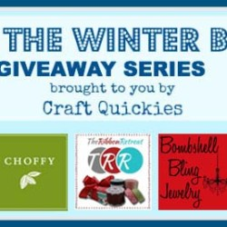 Beat the Winter Blues! Giveaway Series Week 5: A Cricut Mini!