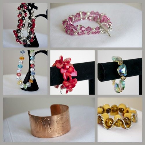Bracelets from Bombshell Bling Jewelry