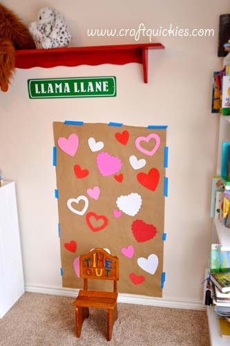 How to Set Up a Valentine's Day Photo Shoot from Craft Quickies 2