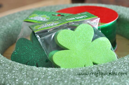 Lucky Clover Wreath 2