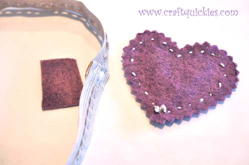 Romantic Stitched Wool Felt Headband12