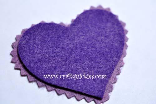 Romantic Stitched Wool Felt Headband2