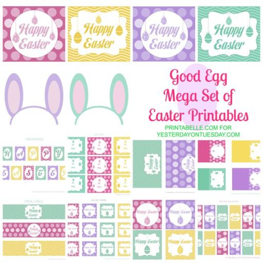 Good-Egg-Mega-Set-Easter-Printables-easterprintables-freeeasterprintables-easter-yesterdayontuesday-printabelle1