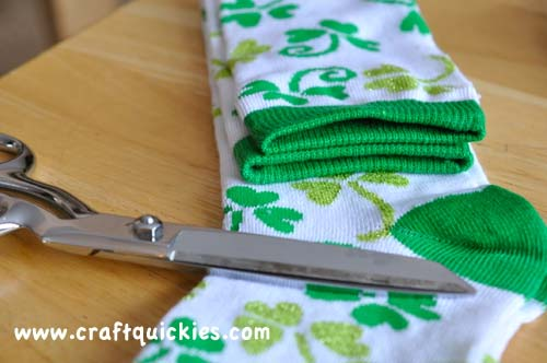 Lucky Legs - How to Make Baby Legwarmers from Craft Quickies2