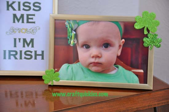 Quick & Easy St. Patrick's Day Frames from Craft Quickies 5