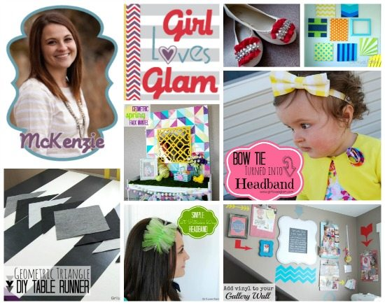 Girl Loves Glam Collage