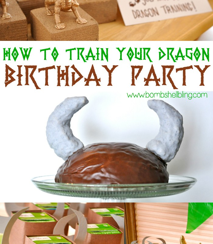 Cutest How to Train Your Dragon party EVER!