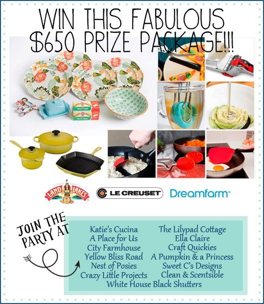 Win this Fabulous $650 Prize Package from your favorite bloggers