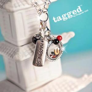 tagged locket