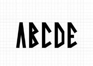 Viking Font