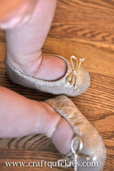 Baby Ballet Shoe Fix from Craft Quickies-14
