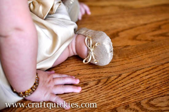 Baby Ballet Shoe Fix from Craft Quickies-15