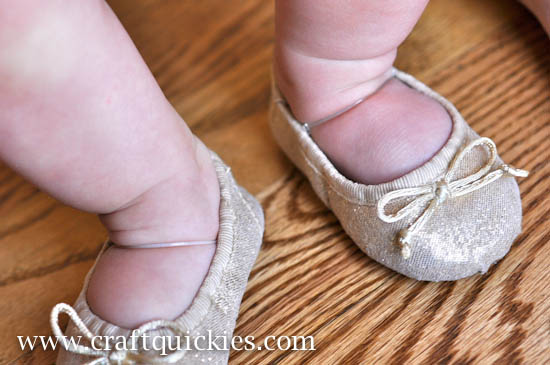 Baby Ballet Shoe Fix from Craft Quickies-16