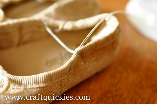 Baby Ballet Shoe Fix from Craft Quickies-4