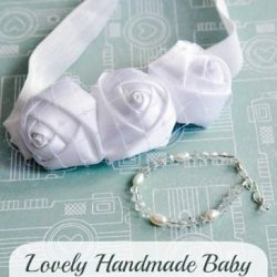 Baby Christening Headband Tutorial