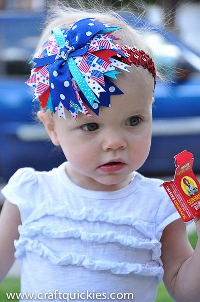 Firecracker Baby Headband from Craft Quickies-7