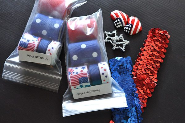 Make this darling Firecracker Headband for your patriotic baby in less than 30 minutes!
