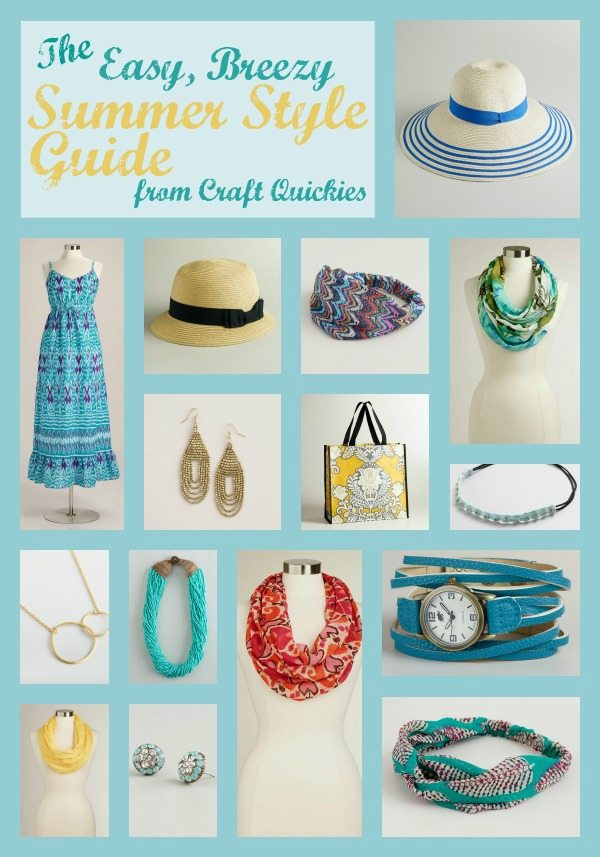 The Easy, Breezy Summer Style Guide for the Lazy Mom!