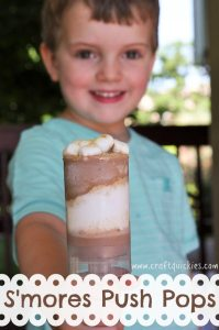 S'mores Push Pops are a perfect summer treat for kiddos that are easy to put together! I am shocked by how tasty marshmallow fluff is frozen!