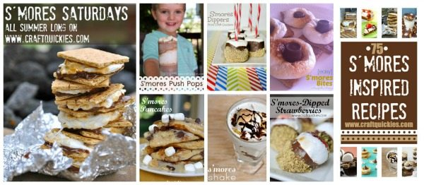 S'mores Saturday all summer long on Craft Quickies! YUM!