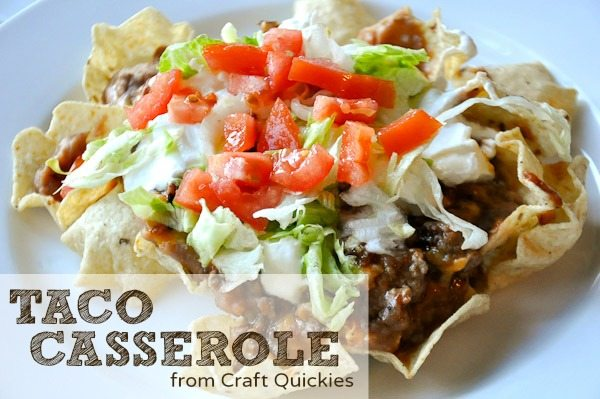 Taco Casserole from Craft Quickies
