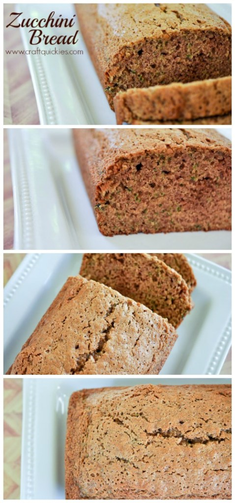 Fabulous Zucchini Bread Recipe! We devour it straight from the oven every time I make it!