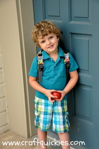Back to School Pictures: Keeping it Simple!