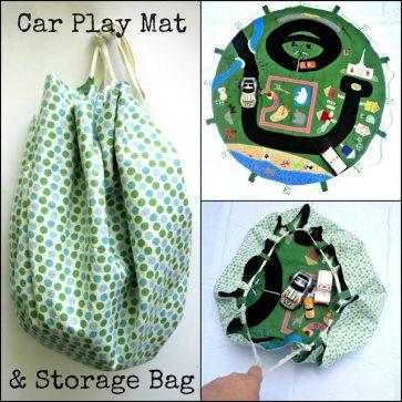 Car Play Mat & Storage Bag
