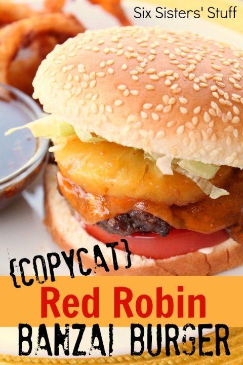 grilling Copycat-Red-Robin-Banzai-Burger