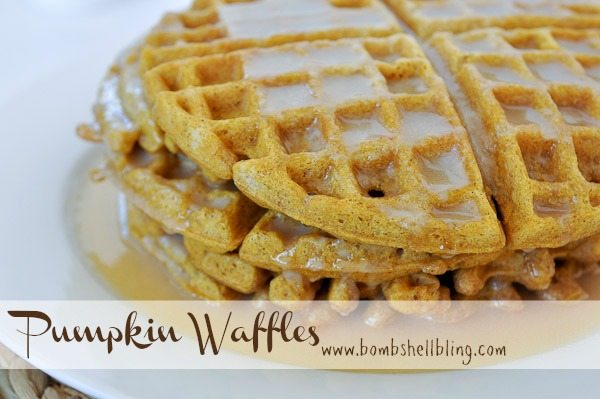 PUmpkin Waffles by Bombshell Bling
