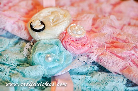 Vintage Flair Rolled Flower Headband from Craft Quickies-11