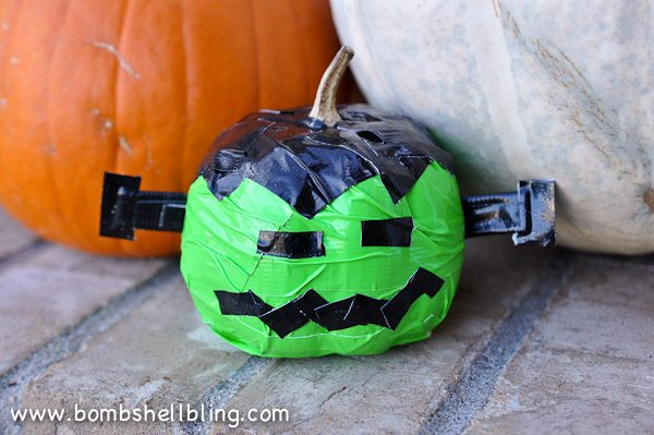 Duck Tape Pumpkins-12