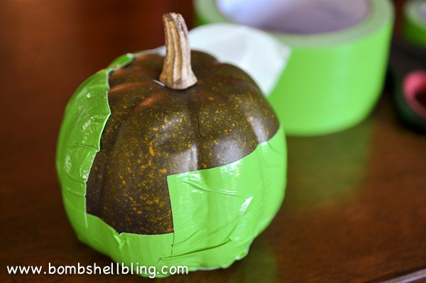 Duck Tape Pumpkins-2