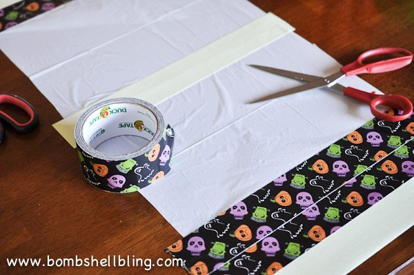 Duck Tape Trick or Treat Bag-3