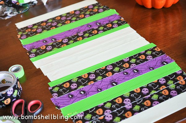Duck Tape Trick or Treat Bag-4