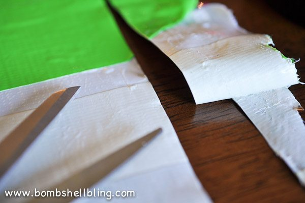 Duck Tape Trick or Treat Bag-7
