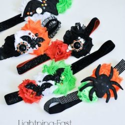 Lightning-Fast Halloween Headbands