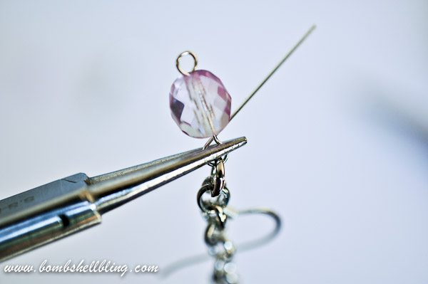 I love these ombre earrings from Bombshell Bling!  Learn to make them using this tutorial!