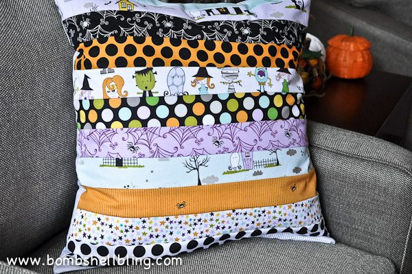 Riley Blake Too Cute to Spook Pillows by Bombshell Bling-29