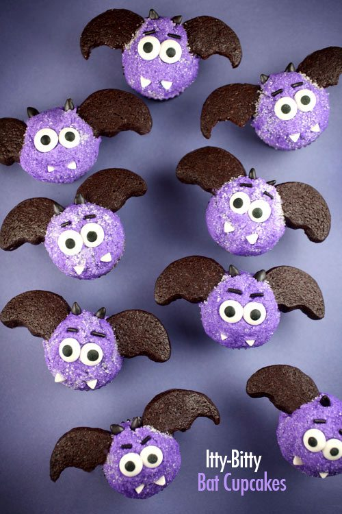 *bat cupcakes