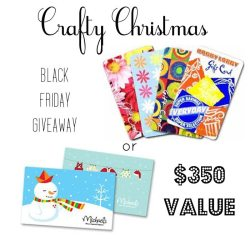 Crafty Christmas Black Friday Giveaway