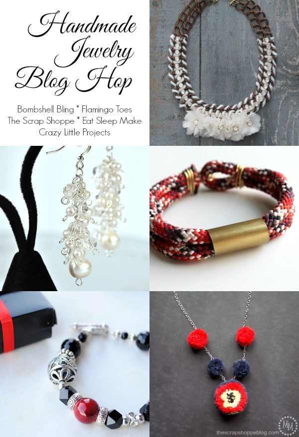 I love these jewelry tutorials!  Perfect for gift giving!